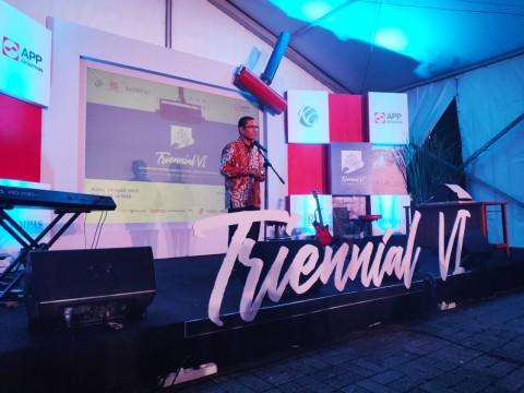 Anugerah Pemenang Kompetisi Internasional Awali Pameran Triennial Seni Grafis Indonesia VI