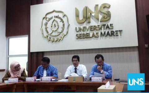 Empat Wakil Rektor Baru UNS Dilantik Besok