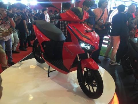 Motor Indonesia 'Gesits' Diluncurkan dengan Banderol Rp24,950 Juta