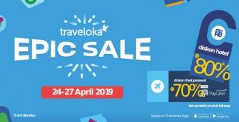 Jangan Sampai Kehabisan, Ini Daftar Promo Menarik dari Traveloka Epic Sale!