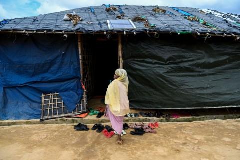Gerilyawan Kuasai Kamp Pengungsi Rohingya di Bangladesh