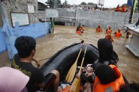 Sebagian Pejaten Timur Terendam Banjir