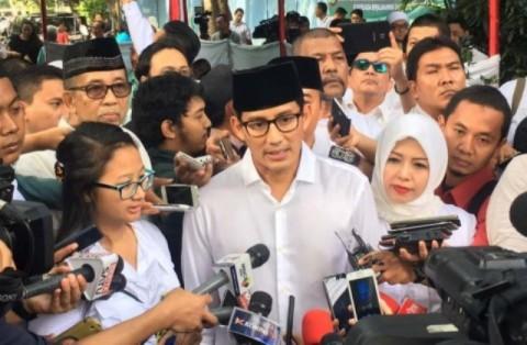 Sandiaga Uno Tak Masalahkan Pertemuan Zulhas dan Jokowi