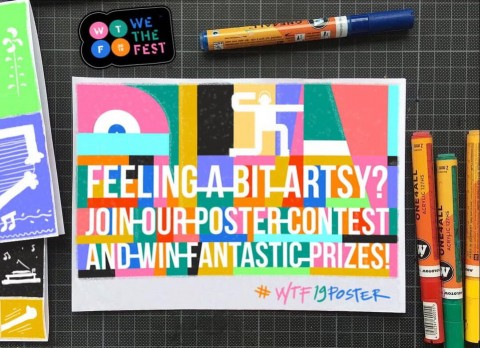 We The Fest Kembali Gelar Kontes Poster