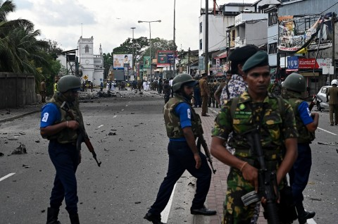 Polisi Sri Lanka Buru 140 Terduga Pelaku Bom