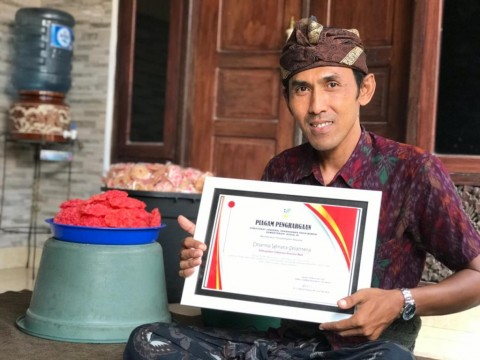 KUBE Dharma Winata Sejahtera Entaskan Anggotanya dari Kemiskinan