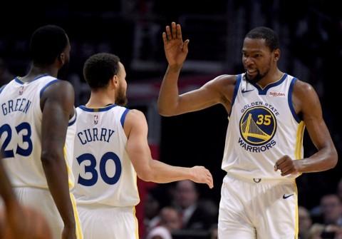 Taklukkan Clippers, Warriors Hadapi Rockets di Semifinal