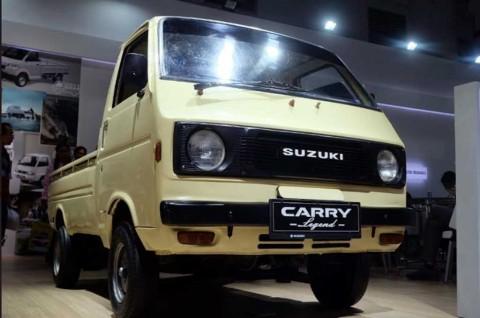 Suzuki Carry 'Jadul' Nangkring di IIMS 2019