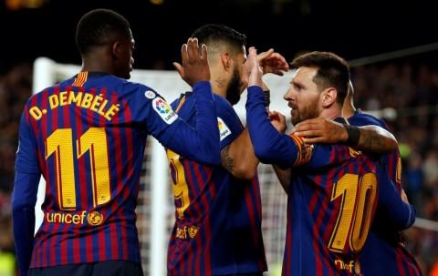 Hantam Levante, Barcelona Juara La Liga Spanyol 2018--2019
