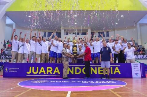 Merpati Bali Juara Srikandi Cup 2018-2019