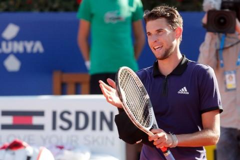 Thiem Singkirkan Rafafel Nadal dari Semifinal Barcelona Open