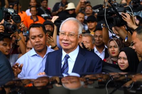 Pembelaan Kasus Korupsi Mantan PM Malaysia Ditolak