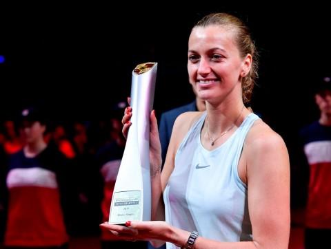 Petra Kvitova Raih Gelar Kedua Musim Ini di Stuttgart
