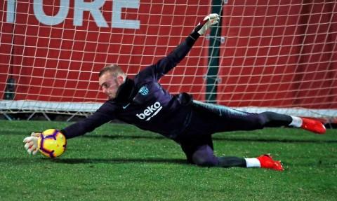 Kiper Timnas Belanda Frustrasi di Barcelona