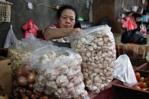 Jakarta Kekurangan 2.930 Ton Bawang Putih