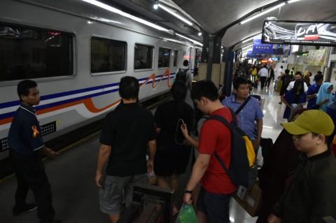 Kereta Api Malang-Banyuwangi Dibatalkan Akibat Banjir Pasuruan