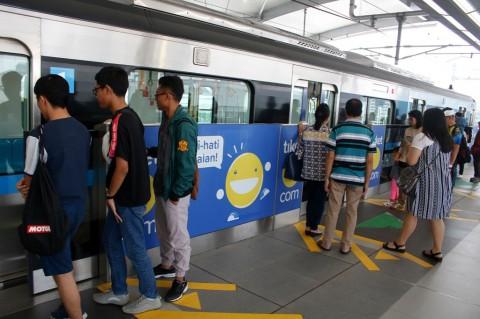 Penumpang MRT Capai 82 Ribu Orang Per Hari