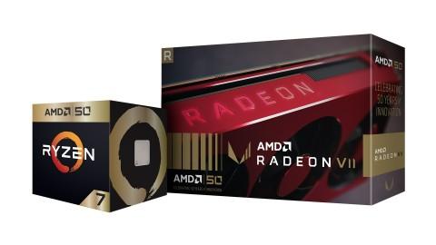 Masuk Usia 50, Ada Ryzen 7 2700X dan Radeon VII Edisi Khusus