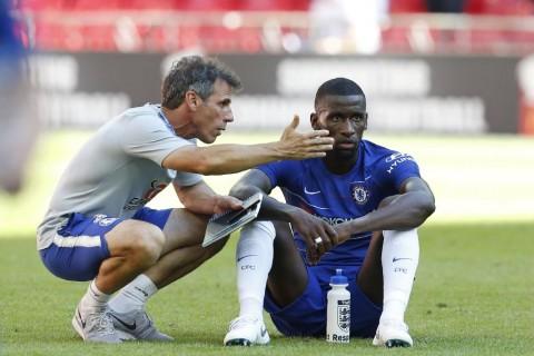 Antonio Rudiger Rihat dari Semua Sisa Laga Chelsea
