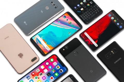 Q1 2019, Distribusi Smartphone Turun 6,6%