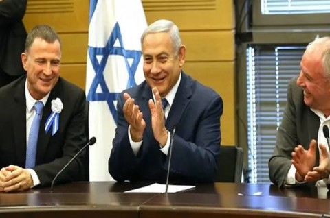 PM Netanyahu Dilantik di Parlemen Israel