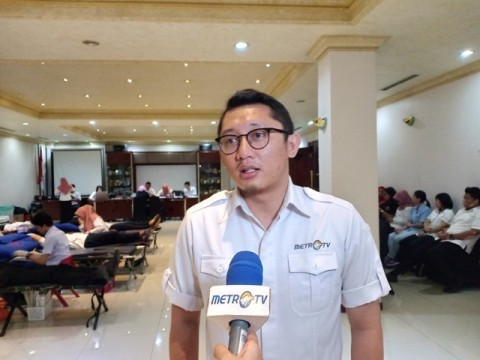 Antusiasme Karyawan Media Group Ikut Donor Darah