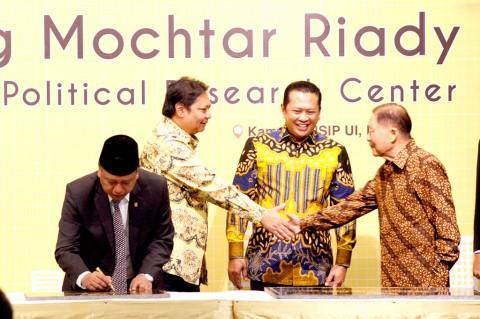 Menristekdikti Resmikan Gedung Mochtar Riady Fisip UI