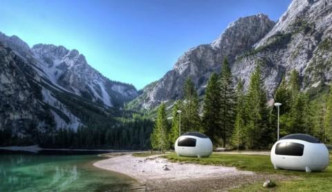 Ecocapsule, Hunian Mirip Telur yang Hemat Energi