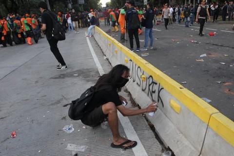 Elemen Buruh Dikorek Soal Vandalisme