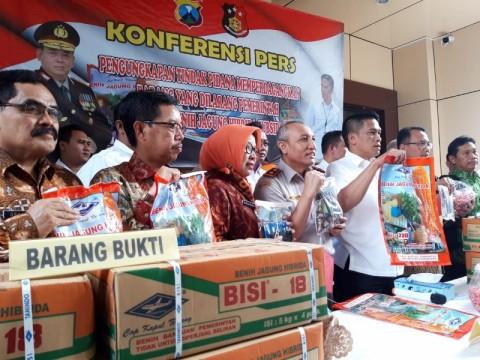 Polisi Bongkar Penjualan 1.060 Kilogram Benih Jagung Bersubsidi