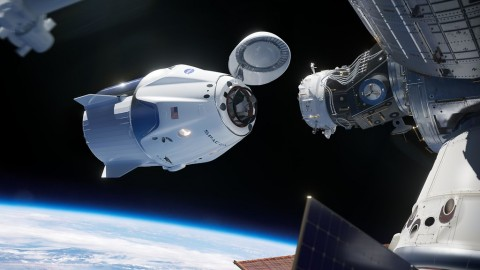 SpaceX Akui Pesawat Awak Dragon Meledak