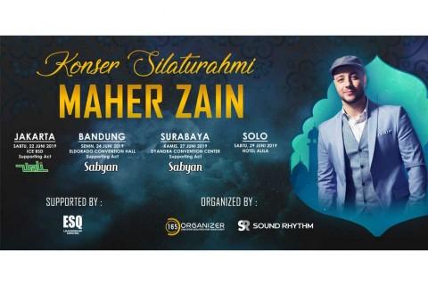 Maher Zain Gelar Konser Silaturahmi di 4 Kota Indonesia