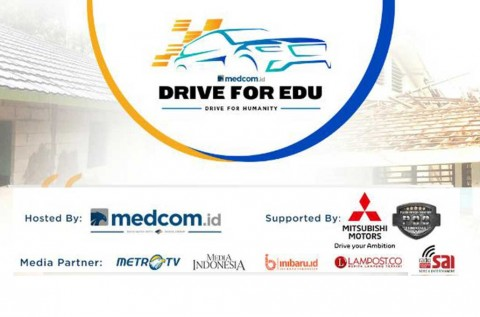 Mitsubishi Dukung Kegiatan Drive for Edu Medcom.id