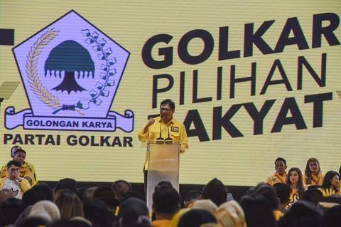 Airlangga: Keputusan Menerima Demokrat Ada di Tangan Jokowi