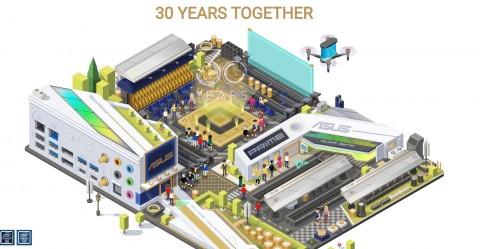 Rayakan Usia ke-30 Tahun, ASUS Bagikan Hardware Gaming
