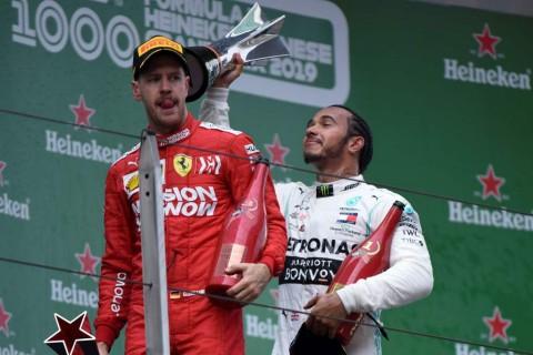Sebastian Vettel Belum Nyaman dengan Performa Ferrari