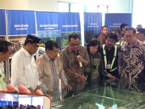 JK: Bandara YIA Genjot Perekonomian Yogyakarta dan Jateng