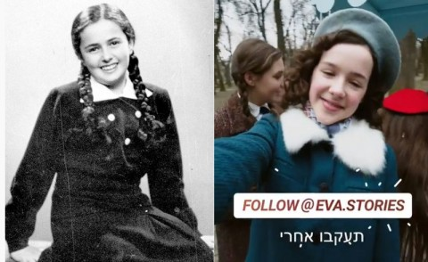 Eva Stories, Adaptasi Kisah Nyata Remaja Korban Holocaust