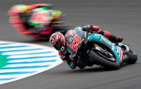 Petronas Yamaha Dominan, Fabio Quartararo Raih <i>Pole Position</i>