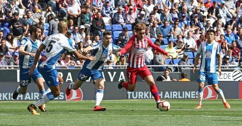 Atletico Madrid Bertekuk Lutut di Markas Espanyol