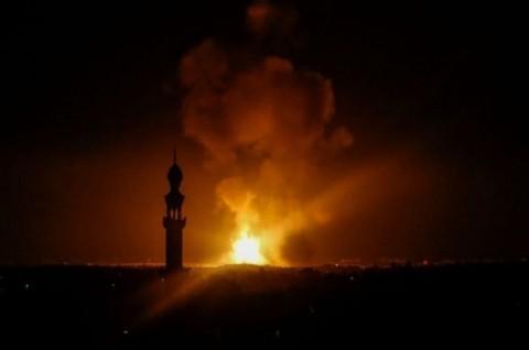 Israel Sebut Militan di Gaza Tembakkan Lebih dari 200 Roket