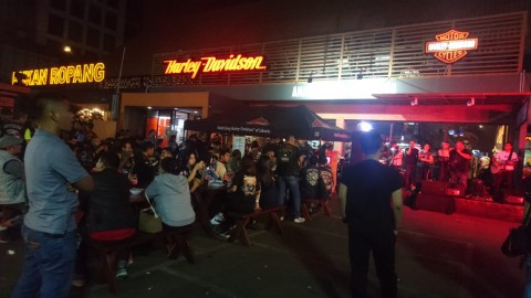 Sambut Ramadhan, HOG Anak Elang Gelar BBQ Night Ride