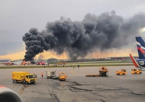Korban Tewas Pesawat Rusia Jadi 41 Orang
