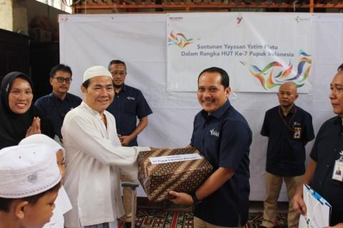 Pupuk Indonesia Salurkan Dana CSR Rp256 Miliar di 2018