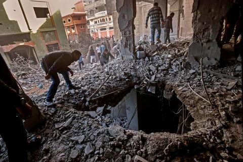 Korban Tewas Serangan Gaza Jadi 23 Orang Termasuk Bayi