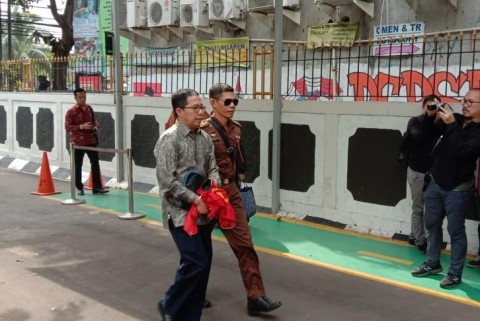 Joko Driyono Menghadapi Sidang Perdana