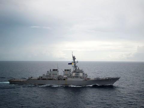 Tiongkok Usir Kapal Perang AS di Laut China Selatan