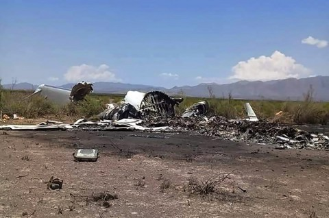 Pesawat Jet Pribadi Jatuh di Meksiko, 13 Tewas