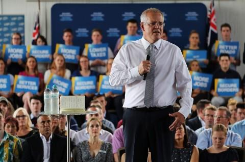 PM Australia Dilempar Telur saat Berkampanye