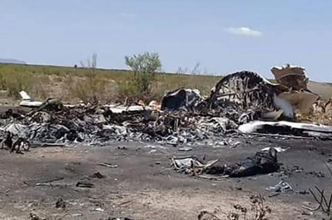 13 Tewas Dalam Kecelakaan Pesawat di Meksiko